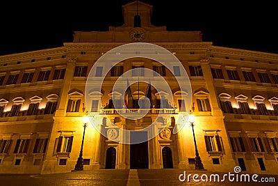 Montecitorio palace