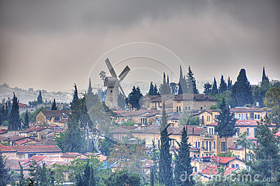 Montefiore Windmill, Jerusalem Israel