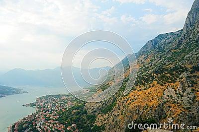 Montenegrin town Kotor