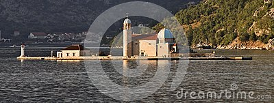 Montenegro: Monastery in the Bay of Kotor