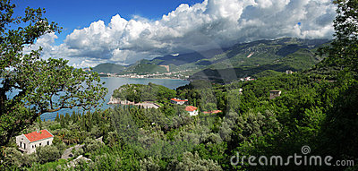 Montenegro. Panoramic view.