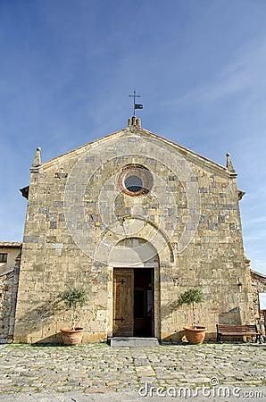 Monteriggioni - Santa Maria church