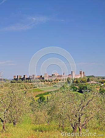 Monteriggioni,Tuscany,Italy