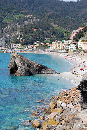 Free Monterosso-Cinque Terre Royalty Free Stock Photo - 5437525