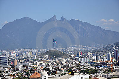 Monterrey City Stock Photos Image 21153523