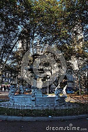 Montevideo Plaza Constitución Uruguay