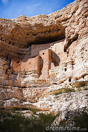 Free Montezuma Castle National Monument Royalty Free Stock Images - 13429119