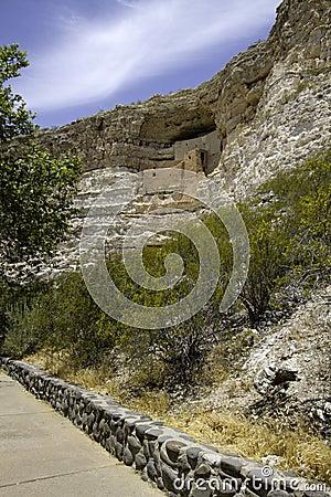 Free Montezuma Castle National Monument Royalty Free Stock Photography - 72868857