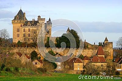 Montfort Castle in Dordogne France