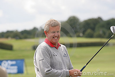 Montgomerie, Open de France 2006, golf National Editorial Photography