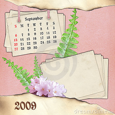 The month of September.