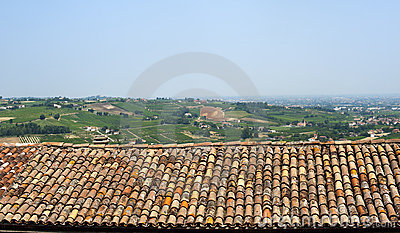 Montiano (Emilia-Romagna), Country Landscape Royalty Free Stock Photos - Image: 21076338