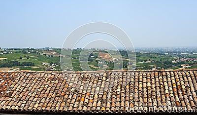 Montiano (Emilia-Romagna), Country landscape