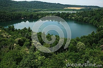 Monticchio lakes