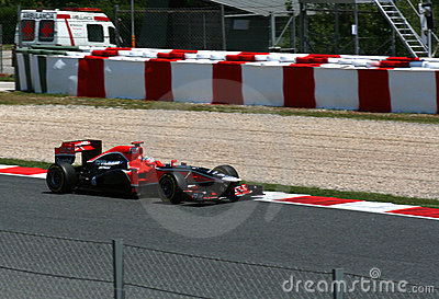 Montmelo F1 GP Editorial Stock Image