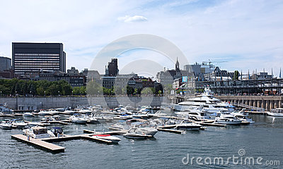 Montreal Editorial Stock Image