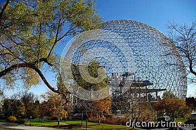 montreal biosphere Editorial Photo