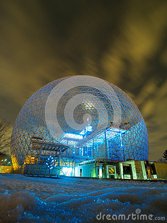 Montreal Biosphere Editorial Stock Image