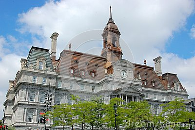Montreal City Hall, Quebec, Canada