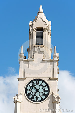 Montreal clock tower (Victoria Pier)