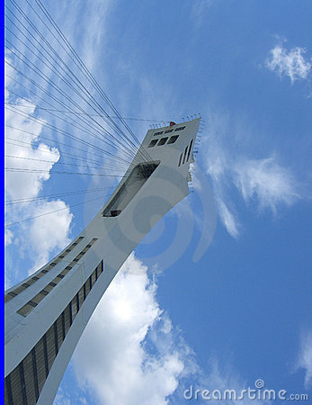 Montreal Olympic Park Tower Editorial Image