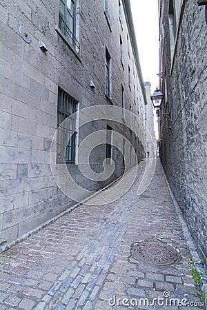 Montreal rue St Jean Baptiste