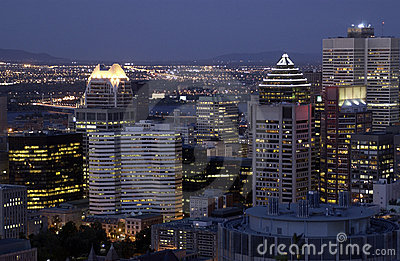 Montreal Skyline - Canada