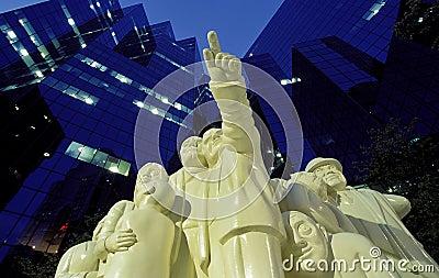 Montreal statue