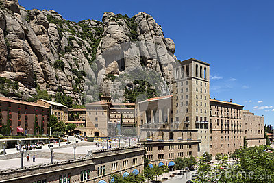 Montserrat - Catalonia - Spain Editorial Photo