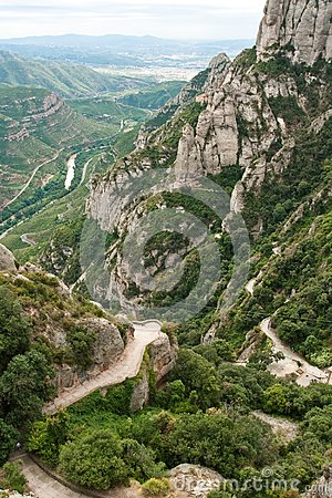 Montserrat, mountain, Spain
