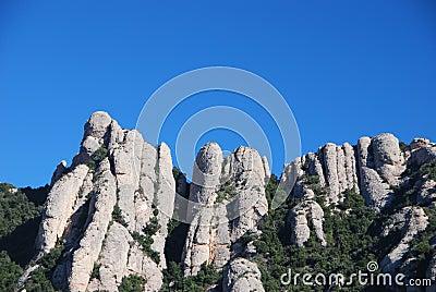 Montserrat peaks