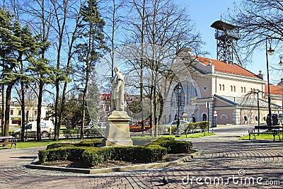 Monument of Adam Mickiewicz Editorial Photo