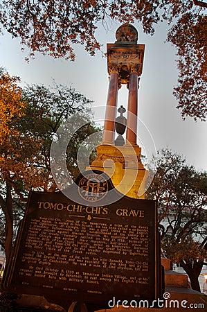 Free Monument At Tomo-Chi-Chi S Grave In Savannah, GA Royalty Free Stock Image - 14423426