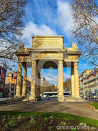 Monument aux combattants de la haute garonne in toulouse for Chambre de commerce et d industrie toulouse