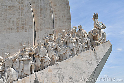 Monument in Belem Editorial Stock Image