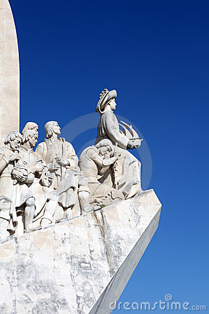 Monument of the Discoveries Editorial Stock Image