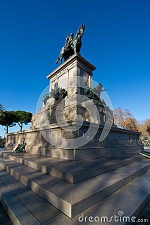Monument of Giuseppe Garibaldi