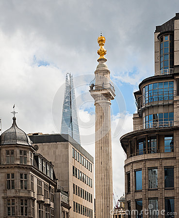 The Monument in London