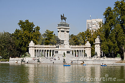 Monument in Madrid