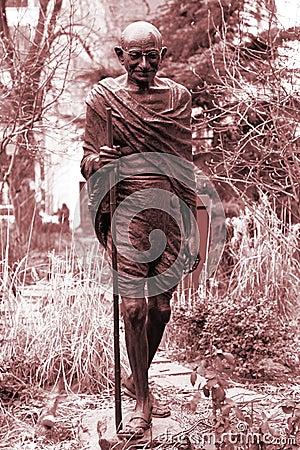 Monument Mahatma Gandhi in NY