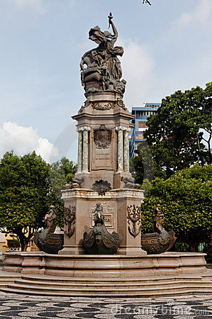 Monument in Manaus Brazil