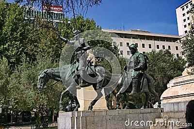 Monument  Miguel de Cervantes