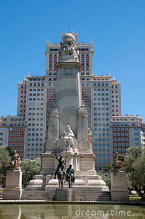 Monument of Miguel de Cervantes