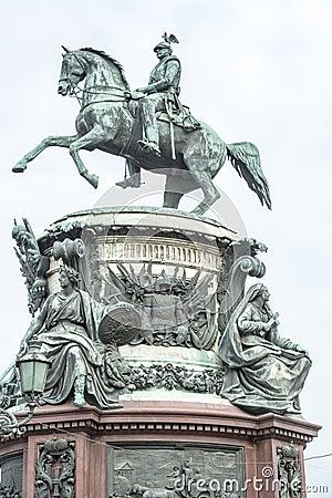 Monument Nicolas I, St. Petersburg