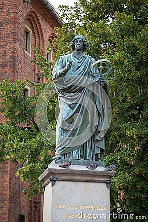 Monument of Nicolaus Copernicus in Torun