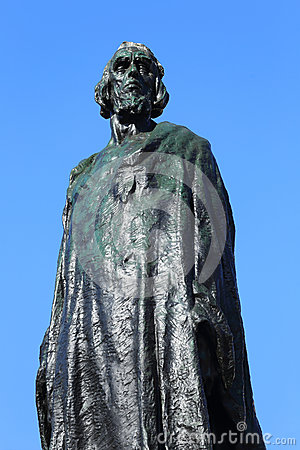 Free Monument Of Jan Hus On The Oldtown Square In Prague Stock Photo - 50549000