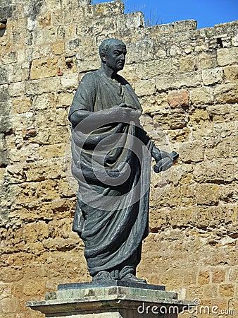 Free Monument Of Lucius Annaeus Seneca In Cordoba Stock Photography - 4731992