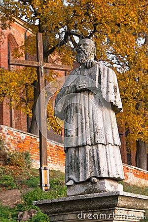 Monument Sandomierz abbot