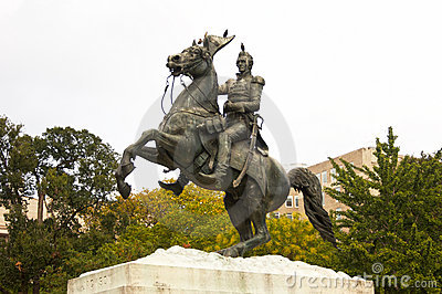 Monument to Andrew Jackson