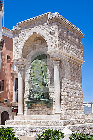 Monument to the Challenge. Barletta. Puglia. Italy